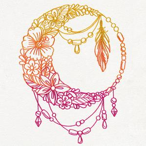 Bohemian Summer - Draped Moon_image