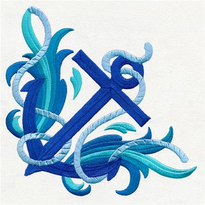 Baroque Seas - Anchor Corner_image