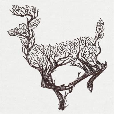 Branching Deer_image