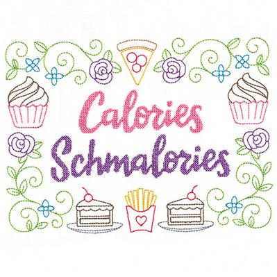 Cheeky Samplers - Calories Schmalories_image