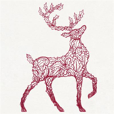 Holly Reindeer_image