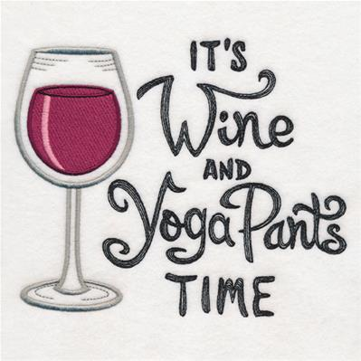 It's Wine and Yoga Pants Time_image