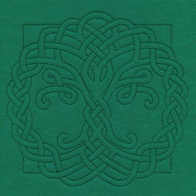 Celtic Quilting - Tree_image