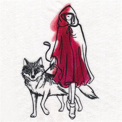 Red and the Wolf_image