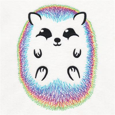 Rainbow Hedgehog_image