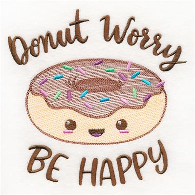 Donut Worry Be Happy_image