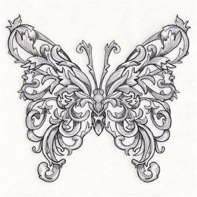 Butterfly in Baroque_image