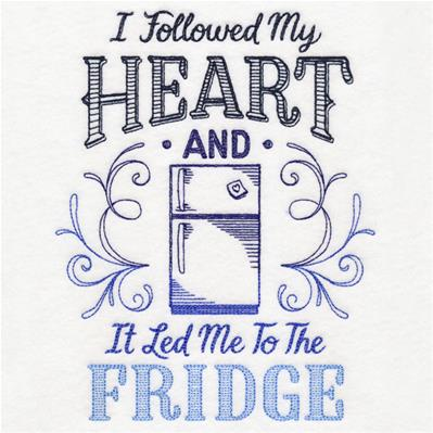 I Followed My Heart and It Led Me to the Fridge_image