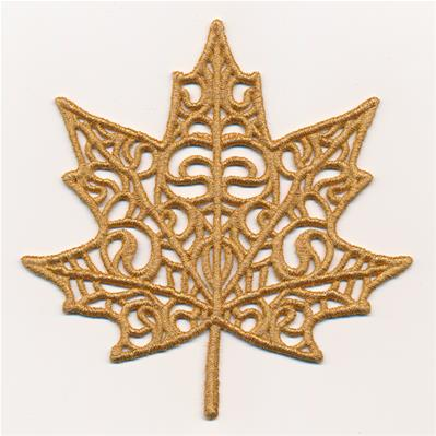 Shimmering Maple Leaf (Lace)_image