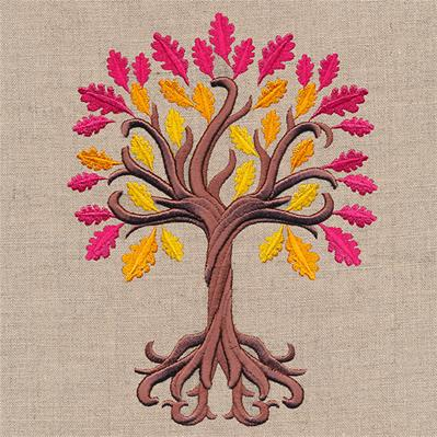Enchanted Autumn Tree (Puff Foam)_image