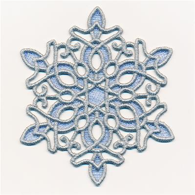 Enchanted Dreams Snowflake (Lace)_image