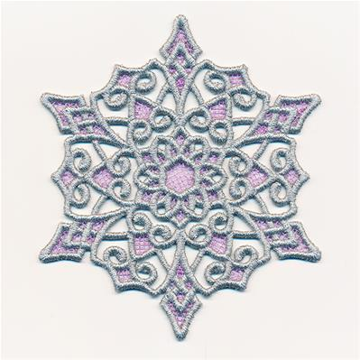 Storybook Ending Snowflake (Lace)_image