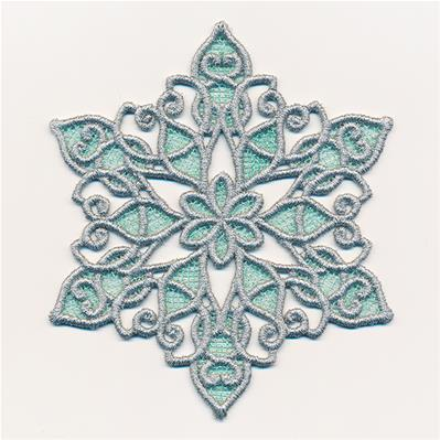 Merry Magic Snowflake (Lace)_image
