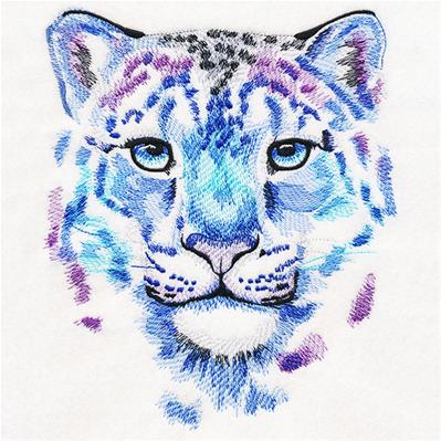 Color Theory Snow Leopard_image