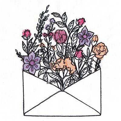 Blooming Envelope_image