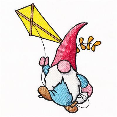 Kite Flying Gnomie Pete_image