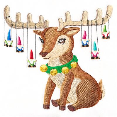 Christmas Magic Reindeer_image