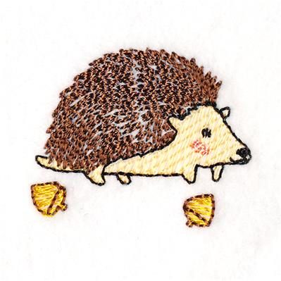 Charming Woodland Hedgehog_image