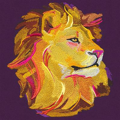 Painted Lion_image