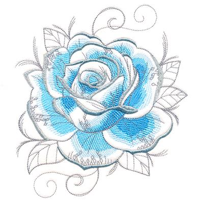 Frosty Winter Rose_image