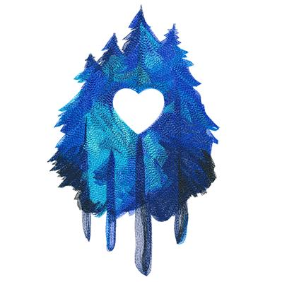 Forest Love in Watercolor_image