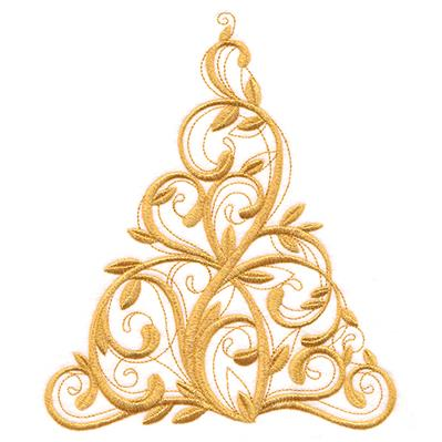 Filigree Christmas Tree_image