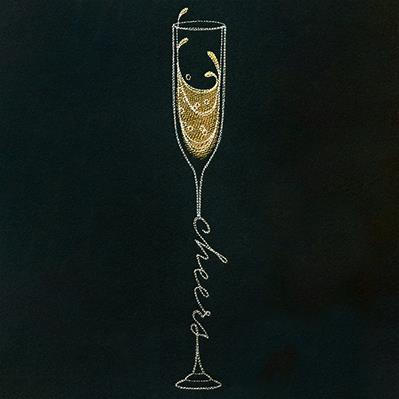 Cheers Champagne Glass_image