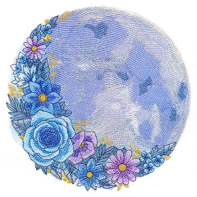 Full Moon in Flowers_image