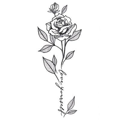 Love Yourself Rose in Bloom_image