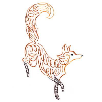 Calligraphic Fox_image