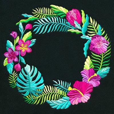 Tropical Urban Threads Unique And Awesome Embroidery Designs This poster makes a lovely addition to most homes and suits most types of room. tropical urban threads unique and