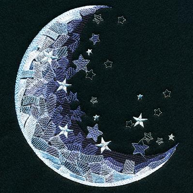 Starry Sky Moon_image