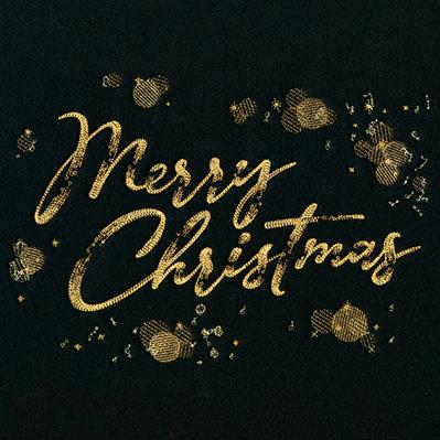 Shimmering Merry Christmas_image