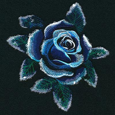 Frosted Midnight Rose_image