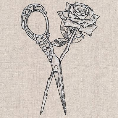 Blooming Scissors_image