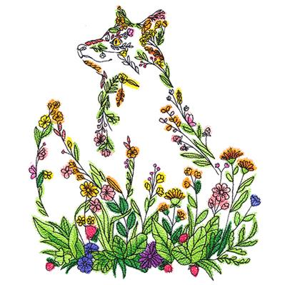 Fox in Botanicals_image