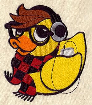 Hipster Duckie_image