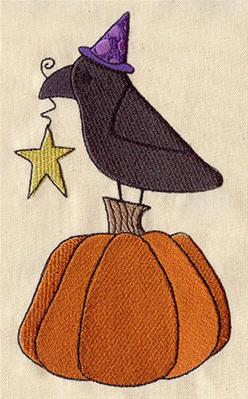 Raven and Pumpkin_image