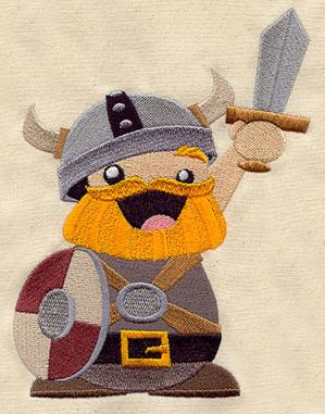 Chuck the Cheerful Viking_image