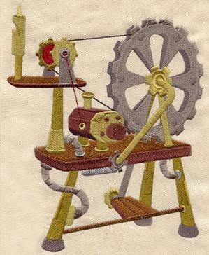 Steampunk Spinning Wheel_image