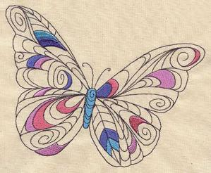 Doodle Butterfly_image