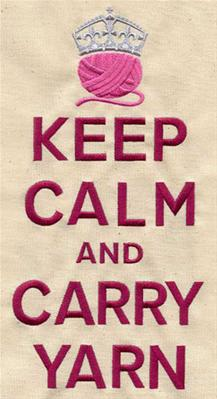 Keep Calm and Carry Yarn_image