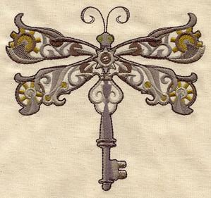 Steampunk Dragonfly_image