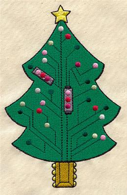 Circuit Christmas Tree_image