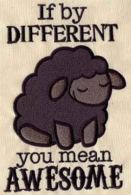 Awesome Black Sheep_image