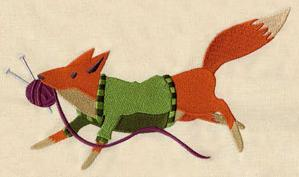 Knitting Fox_image