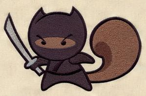 Ninja Squirrel_image