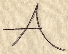 Handwriting Letter A - Uppercase_image