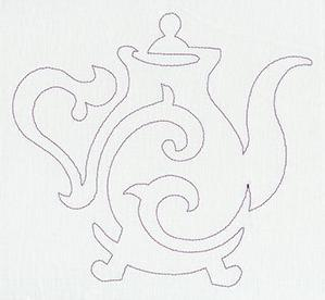Quilting Teapot (Single Run)_image