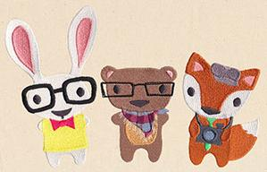 Hipster Critters_image
